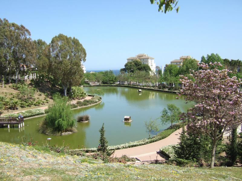 La Paloma park ,3 minutes walk from the complex