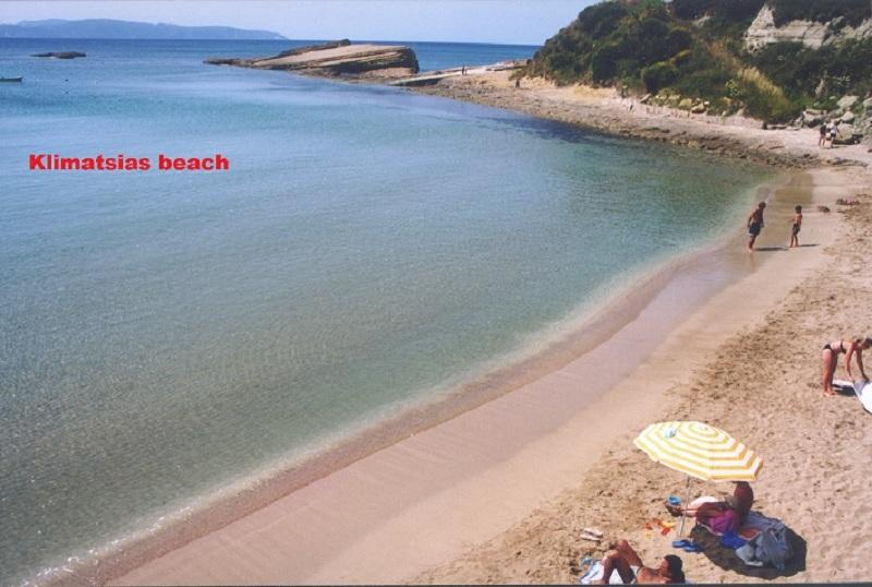Sandy beach of Klimatsias -Suitable for young children