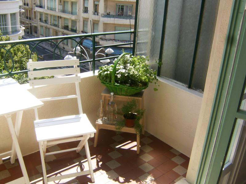 Balcony- living room