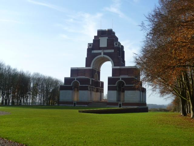 Thiepval Memorial In The Somme