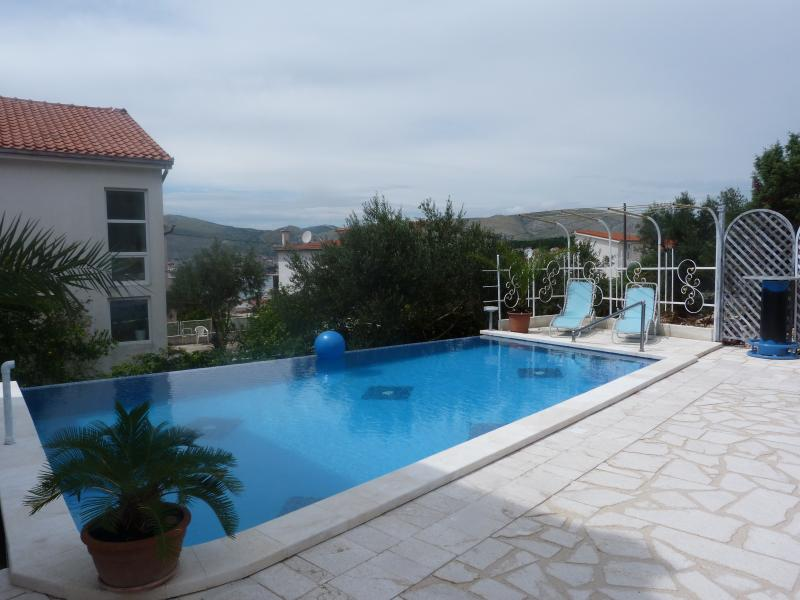 Swimming pool for the sole use of the guests of the house