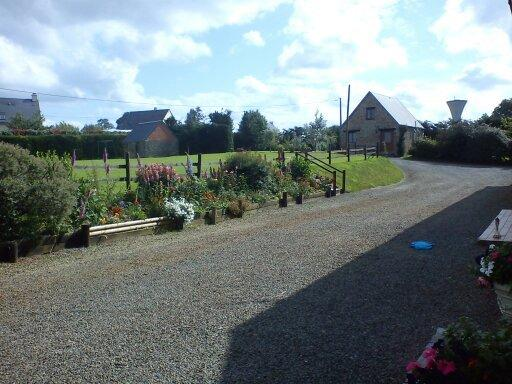 View of front garden from The Stables