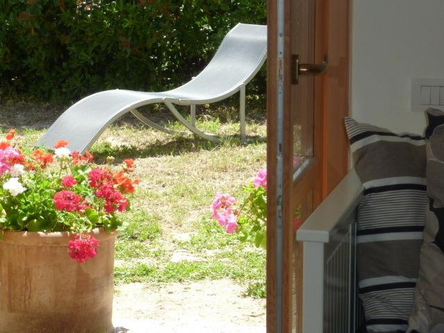 Secluded garden areas are ideal for sunbathing and enjoying the spectacular views