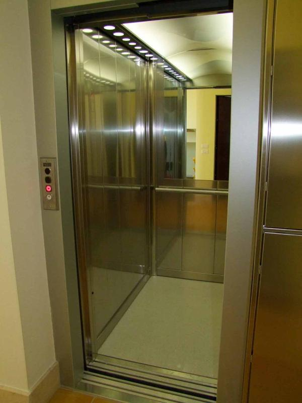 Lift in building