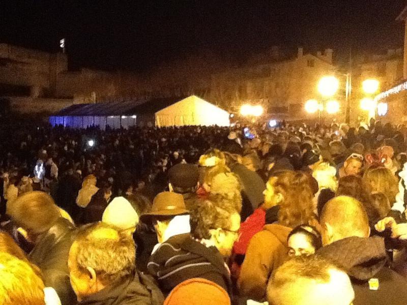 Nouvel an, s Eve célébration de Collioure