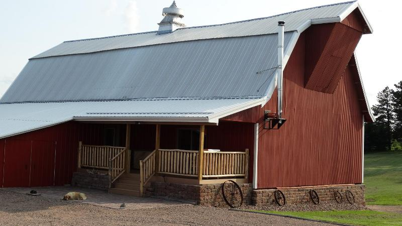 Lodge was converted in 2012 from dairy barn build in 1922