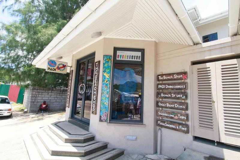 Curio Shops and Dive Center