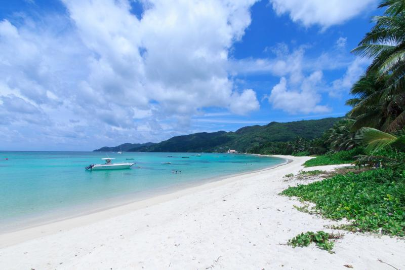 The incredible Anse Royale beach
