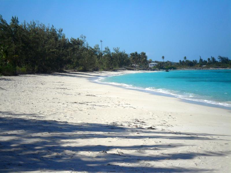 Take a walk along Exuma beautiful breath taking sandy beaches.
