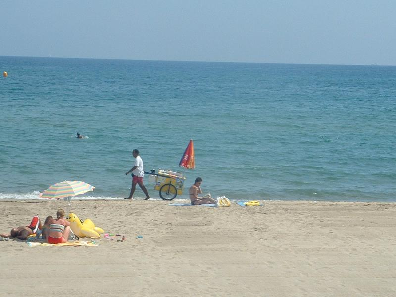 Beach at Sete, 25 minutes from Abeilhan.