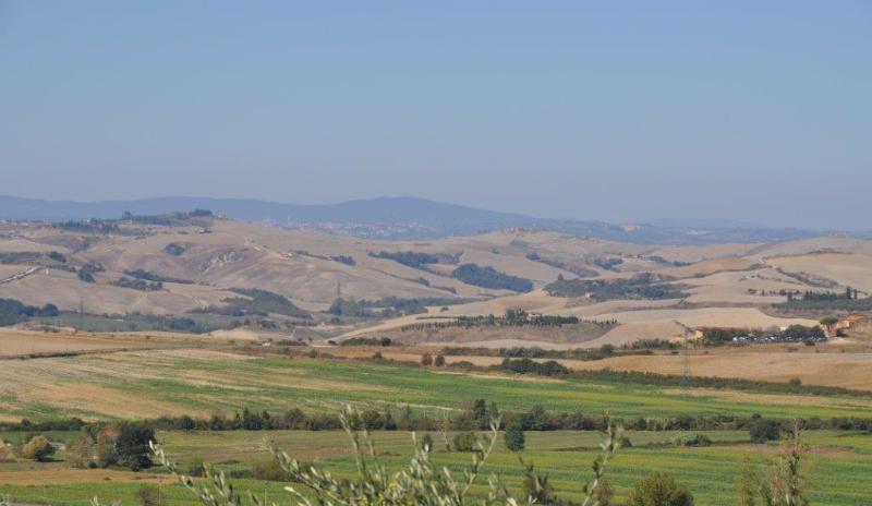 Panorama Crete Senesi