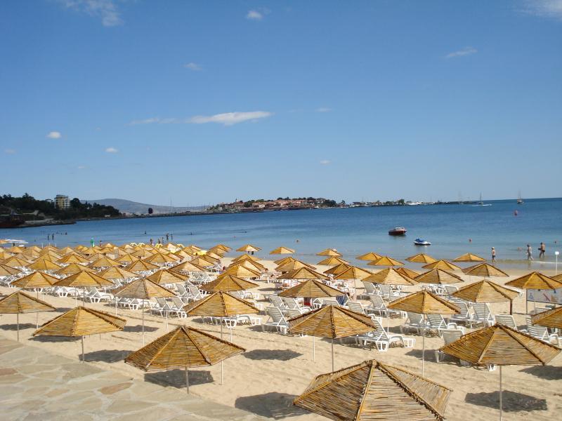 The beach at Nessebar