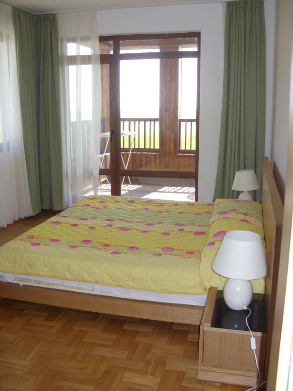 Two en suite bedrooms with balconies