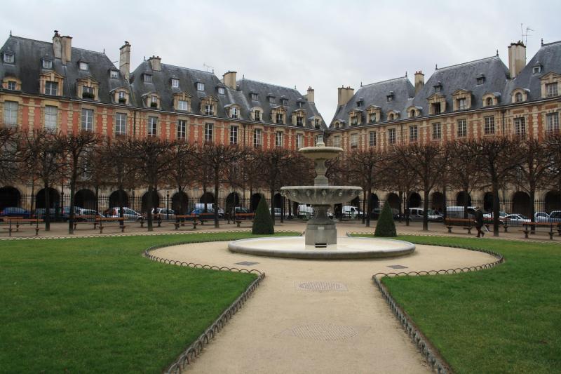 Place des Vosges only few minute walk