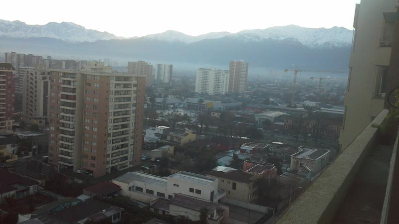 Los Andes view from the balcony