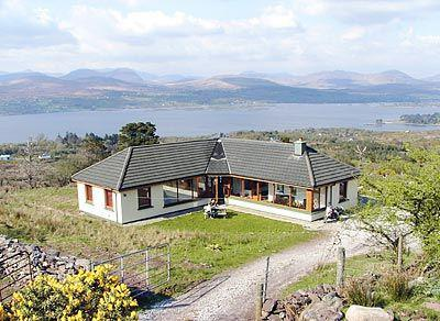Wheatfield with views of Kenmare Bay
