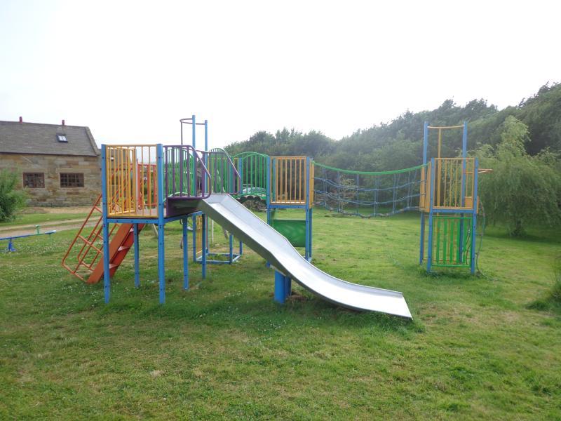 Notre aire de jeux pour les enfants