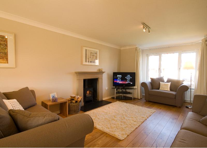 Enjoy a favourite film in front of the fire, with a DVD from our library on the 40' TV