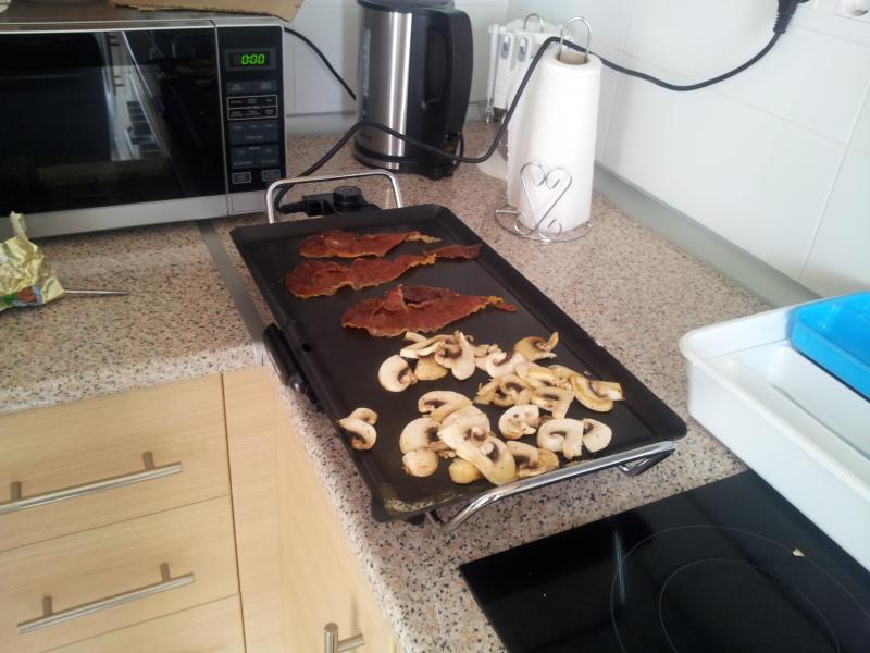 kitchen grill for that tasty effortless breakfast