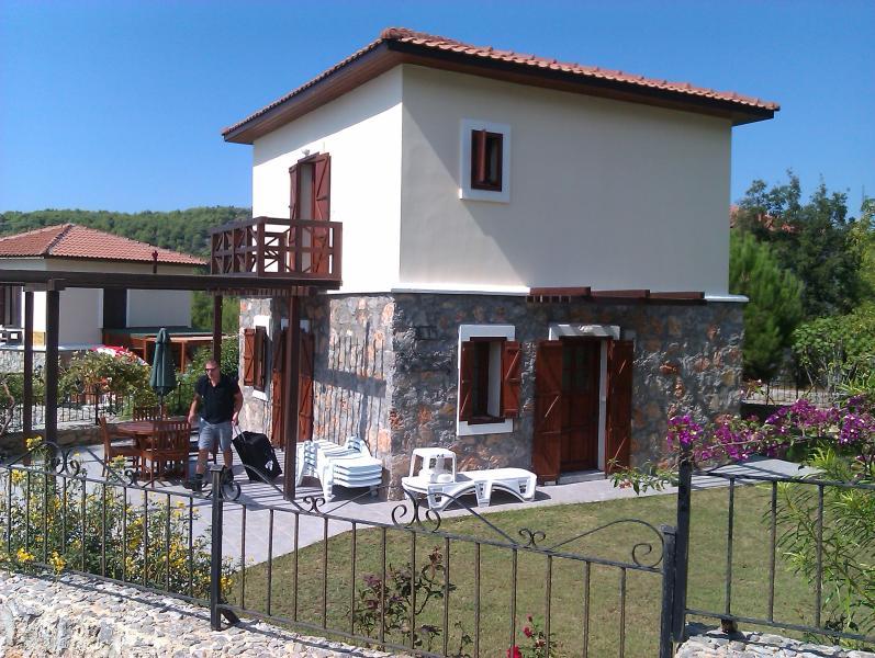 Villa over garden