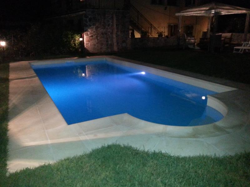 Pool Night View