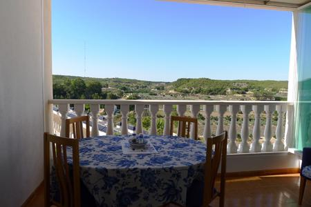 Balcony with lovely views over Guardamar Hill