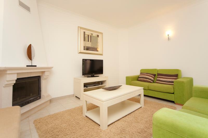 Cálida y acogedora sala de estar Casa Verde