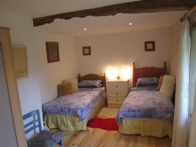 Bedroom 1 - Two Single Beds