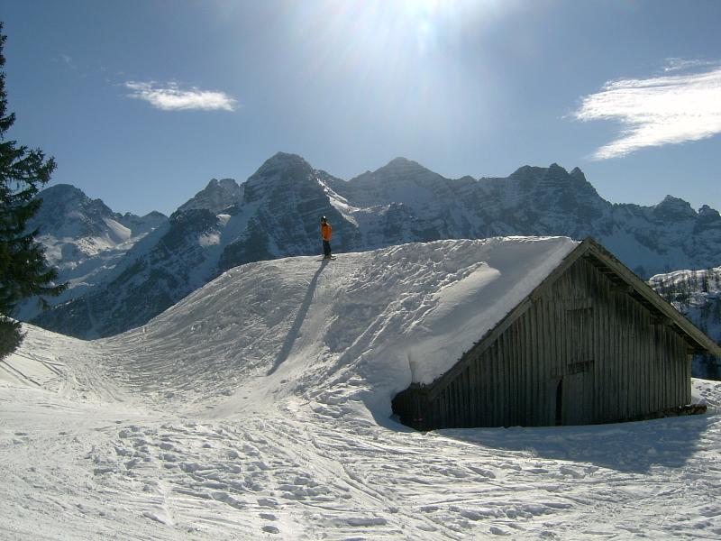 The Lofer ski resort