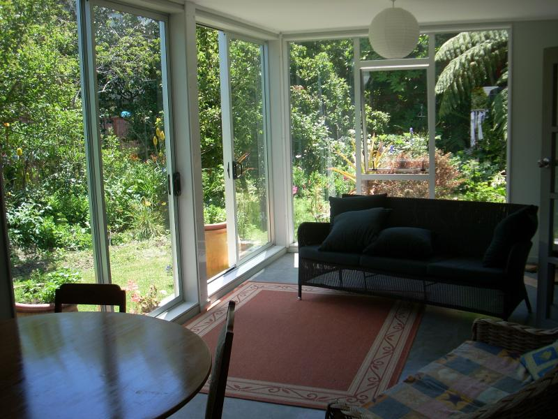 Conservatory - relax and enjoy the flowers