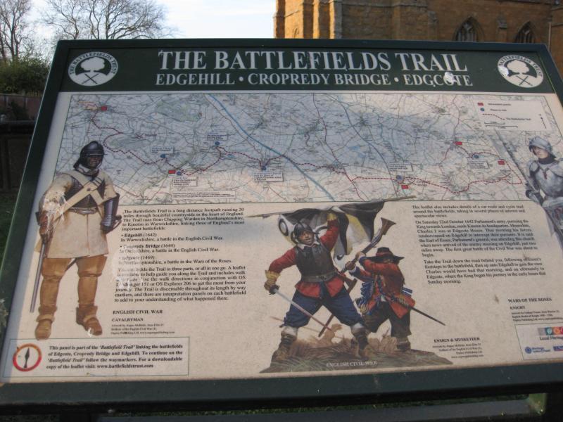 Kineton: On the battlefield trail...