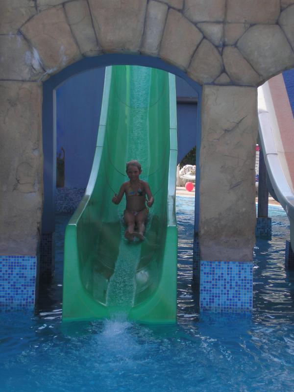 Childrens slide at Nessebar Water Park