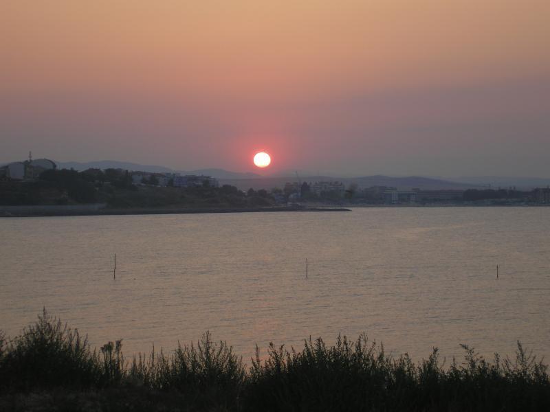 Sunset taken from Old Nessebar