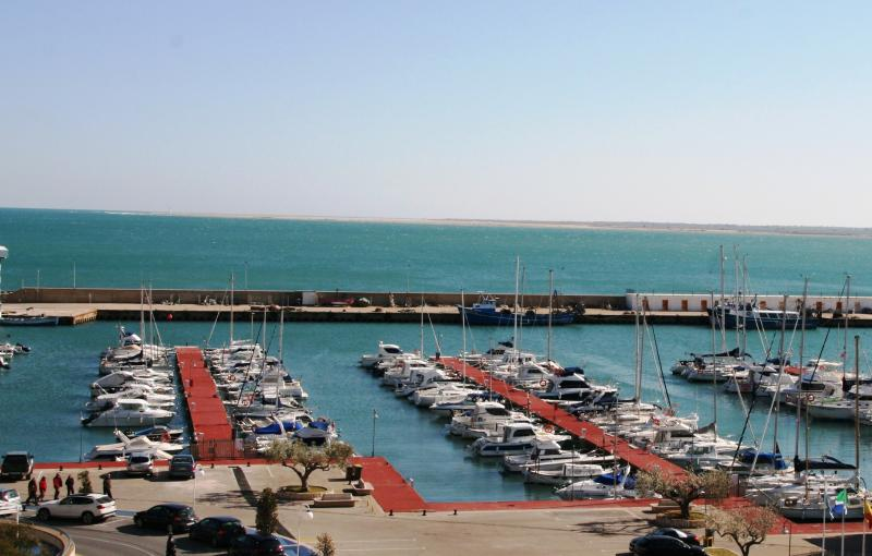 Balcony View of L'Ampolla Harbour
