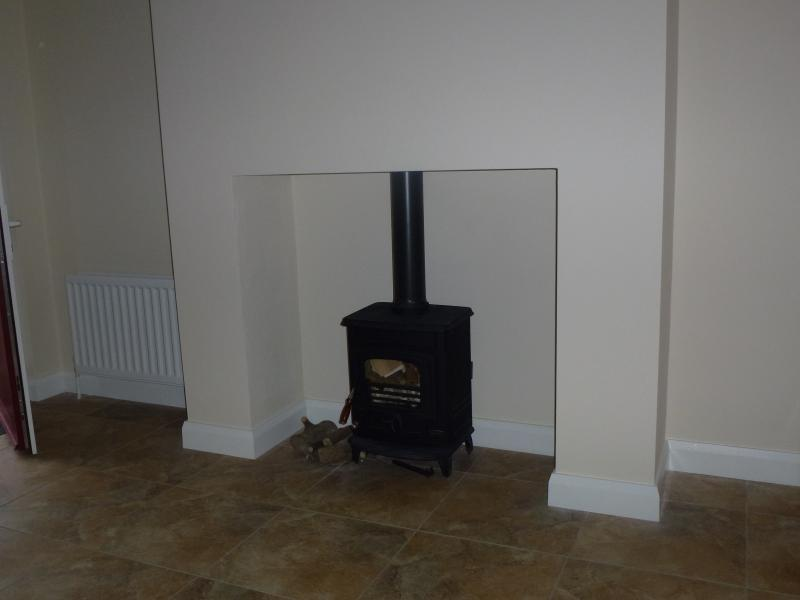 Wood-burner provides cosy comfort in addition to oil-fired central heating