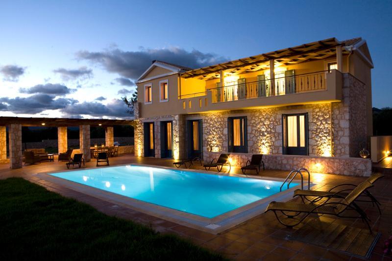 villa Maria by night