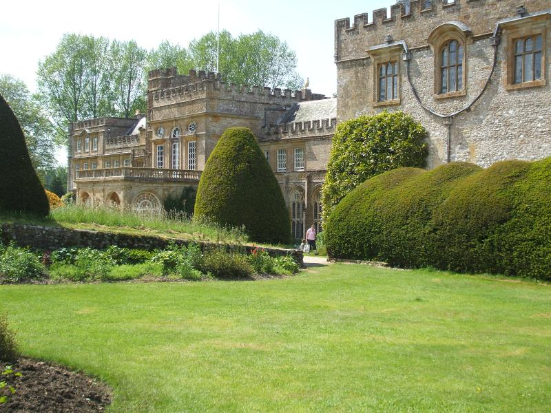 Forde Abbey, wonderful gardens and house nearby.