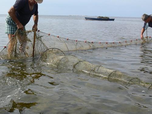 Traditional art Fishermen
