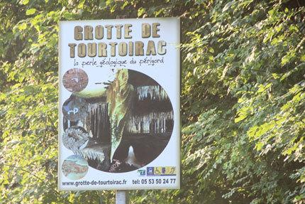 The Cave of Tourtoirac. Can be visited completely by disabled persons and baby strollers.