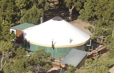 The YURT at Screwball Ranch