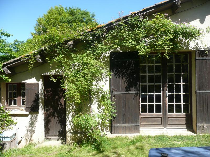 Brousseau, the annexe in early May