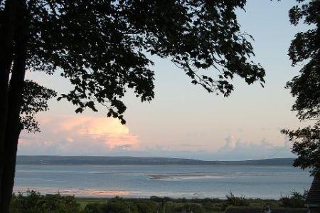 Wonderful evening view over the Gower peninsula