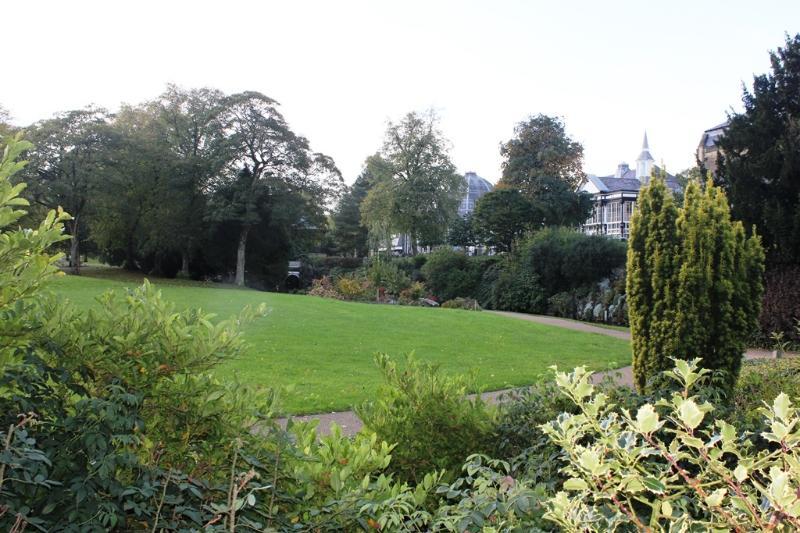 Buxton Pavilion gardens - 5 minutes walk
