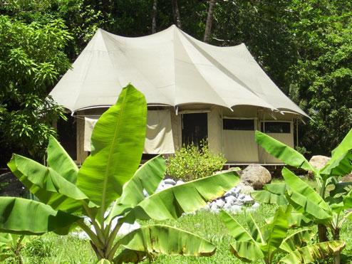 Ambazaman safari glamping cottage