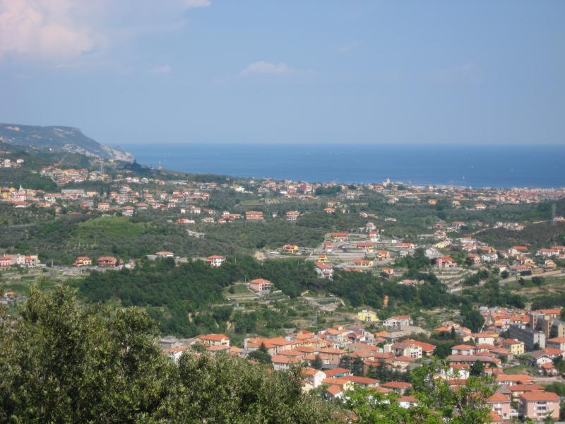 view from Balestrino