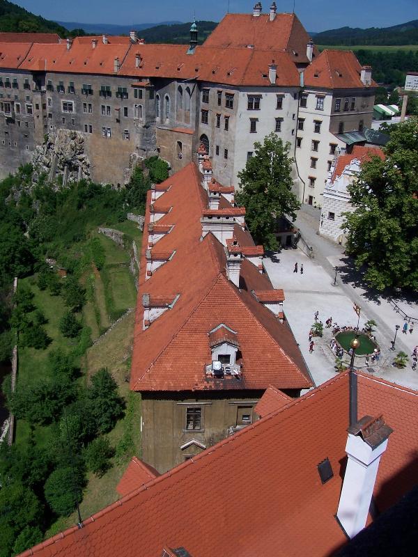 ?eský Krumlov castle