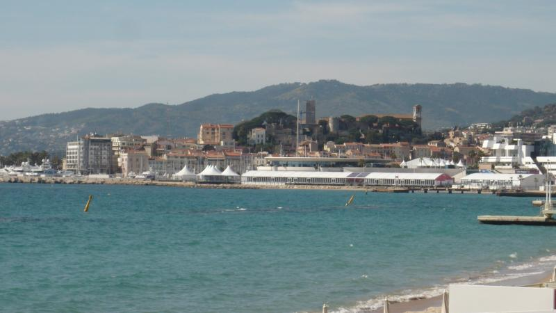 Cannes during film Festival.