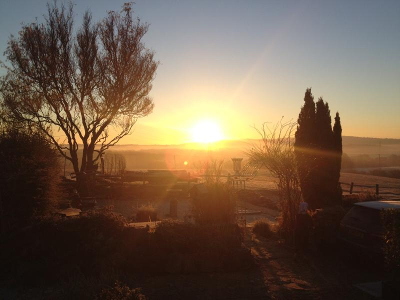 Sunrise at Downoka Abbey Lodge