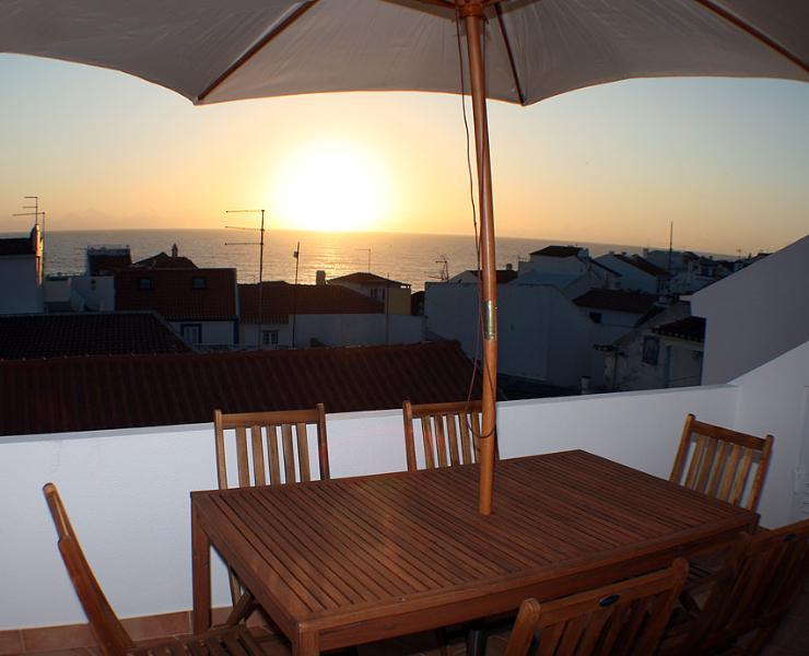 roof terrace - sunset