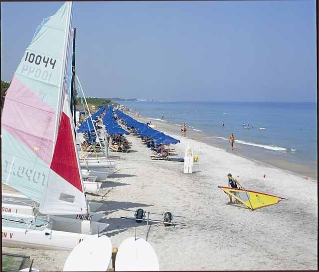 Sea sport at Tigaki beach